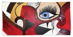Motley Eye 2 Beach Towel