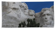 Mount Rushmore Beach Towel by Juli Scalzi
