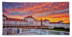 Mount Washington Hotel Beach Towel