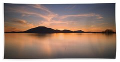 Mountain Sunset II Beach Towel