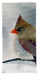 Mrs. Cardinal Beach Towel