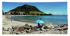 Mt Maunganui Beach 5 - Tauranga New Zealand Beach Towel