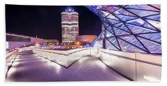 Munich - Bmw Modern And Futuristic Beach Towel
