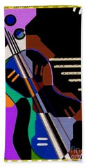 Music Beach Towel