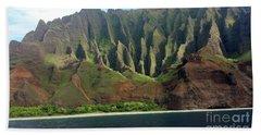 Na Pali Coast Beach Towel