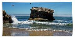 Natural Bridges State Park Beach Towel