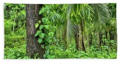 Beach Towel featuring the photograph Nature 7 by Charuhas Images