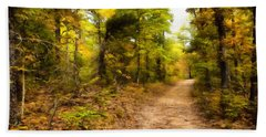 Nature Trail Beach Sheet by Ricky Dean
