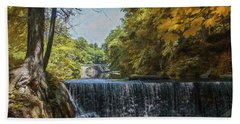 Beach Towel featuring the photograph Nature's Beauty by John Rivera