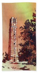 Ncsu Bell-tower Beach Towel