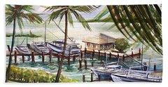 Near The Harbour Beach Sheet