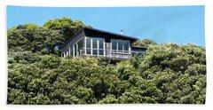New Zealand - Pohutukawa Tree House  Beach Towel