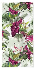 Nicaragua Beach Sheet by Jacqueline Colley