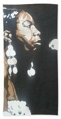 Nina Simone Beach Sheet