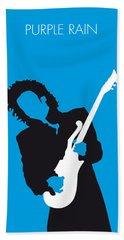 No009 My Prince Minimal Music Poster Beach Towel