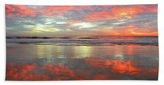 North County Reflections Beach Towel