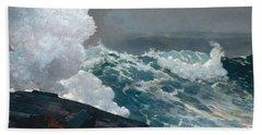 Northeaster, 1895 Beach Towel