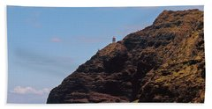 Oahu - Cliffs Of Hope Beach Towel