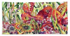 Octopus Garden Beach Sheet