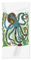Octopus' Garden Beach Towel
