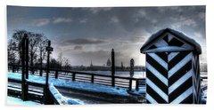 Old City Beach Sheet by Yury Bashkin