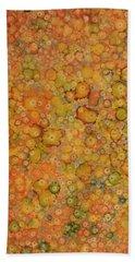 Orange Craze Beach Towel