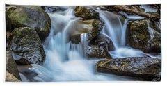 Oregon Stream  Beach Towel