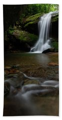 Otter Falls - Seven Devils, North Carolina Beach Towel