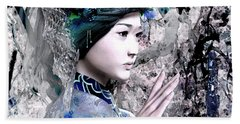 Our Lady Of China 7 Beach Towel