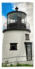 Owl's Head Lighthouse Beach Sheet