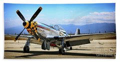 P-51 Mustang Kimberley Kaye Beach Sheet