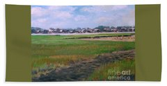 New England Shore Beach Towel
