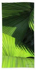 Palm Patterns Beach Towel