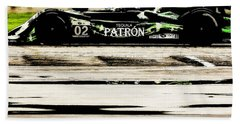 Beach Towel featuring the photograph Patron by Michael Nowotny