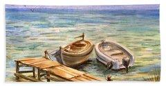 Peaceful Evening Beach Sheet
