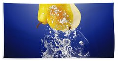 Pear Splash Collection Beach Towel