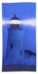 Pemaquid Lighthouse Beach Towel by George Robinson
