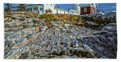 Pemaquid Reflections Beach Towel