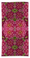 Perennial Garden Art Beach Towel