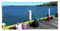 Pilot Bay 1 - Mount Maunganui Tauranga New Zealand Beach Towel