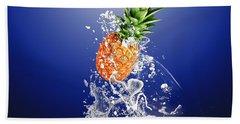 Pineapple Splash Beach Towel