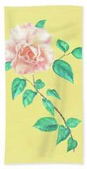 Pink Rose Beach Sheet