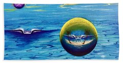Planet Surf  Beach Towel