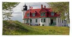 Point Betsie Lighthouse Beach Towel