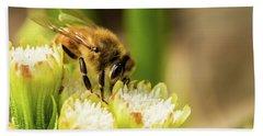 Pollen Collector  Beach Towel