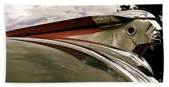 Pontiac Ornament  Beach Towel by Alan Johnson