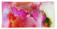 Poppy Garden Beach Sheet