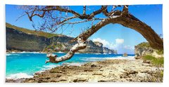Porte D Enfer, Guadeloupe Beach Towel