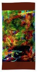 Power Of  Colour Beach Towel