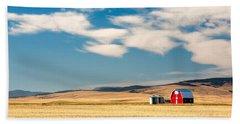Prairie Red Beach Sheet